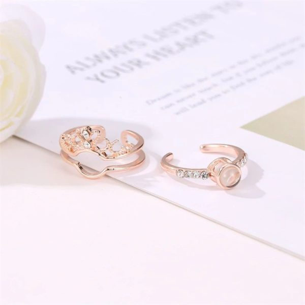 I Love You Projection Ring 1