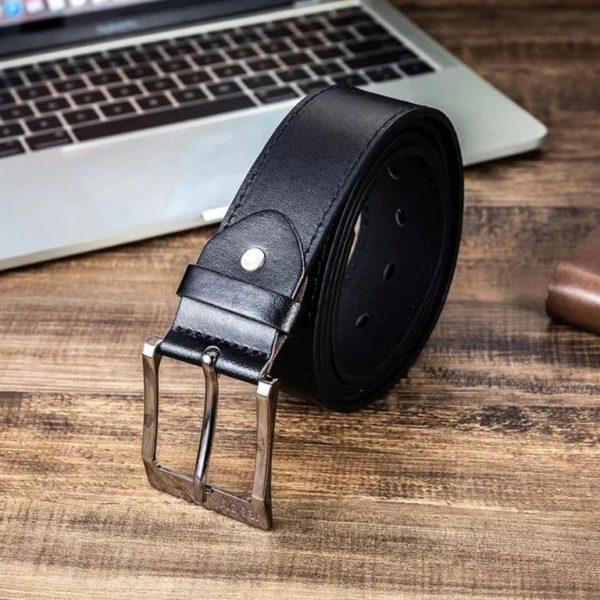 Mens Luxury Gift Set - Black - Belt
