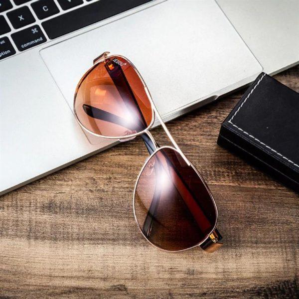 Mens Luxury Gift Set - Brown - Glasses