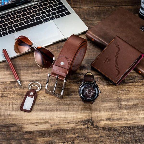 Mens Luxury Gift Set - Brown - Set