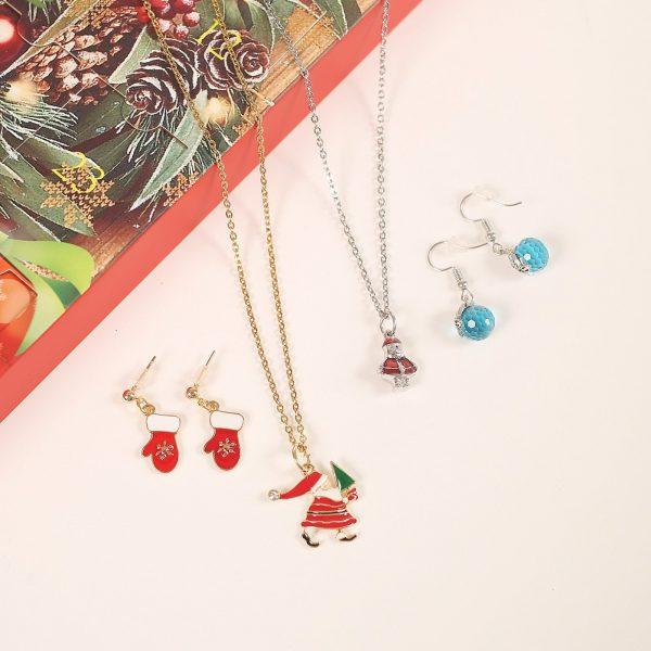 Christmas Earrings Advent Calendar Set