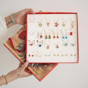 Christmas Earrings Advent Calendar Set