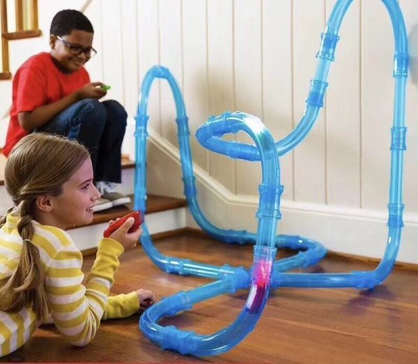 Speed Pipes Electric Car Racing Track
