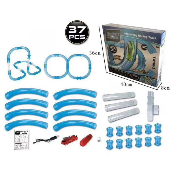 Speed Pipes Electric Car Racing Track 7