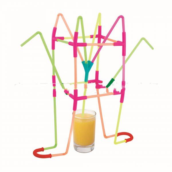DIY Fun Drinking Straw Connector Kit