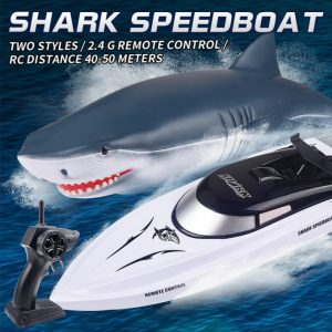 Electric RC Shark Speed Boat