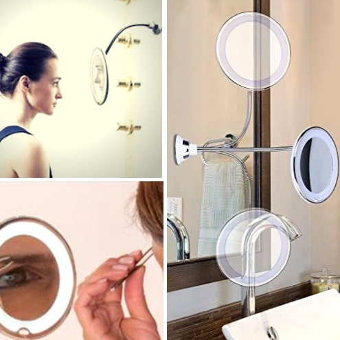 Flexible Gooseneck Makeup Mirror 1