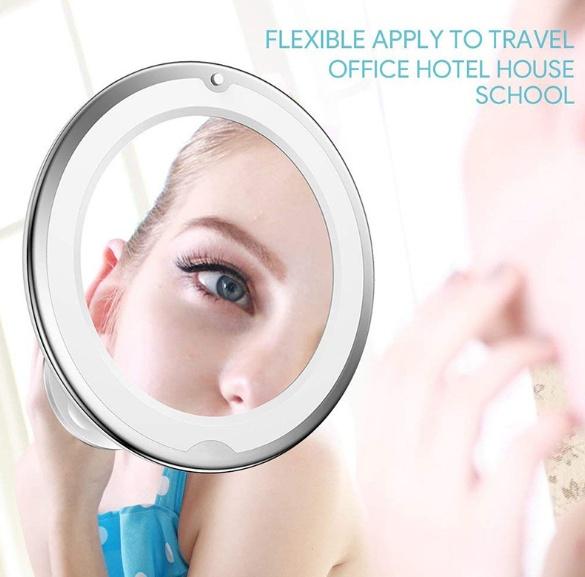 Flexible Gooseneck Makeup Mirror 6