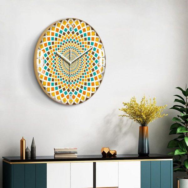 European Style Decorative Pattern Wall Clock 1
